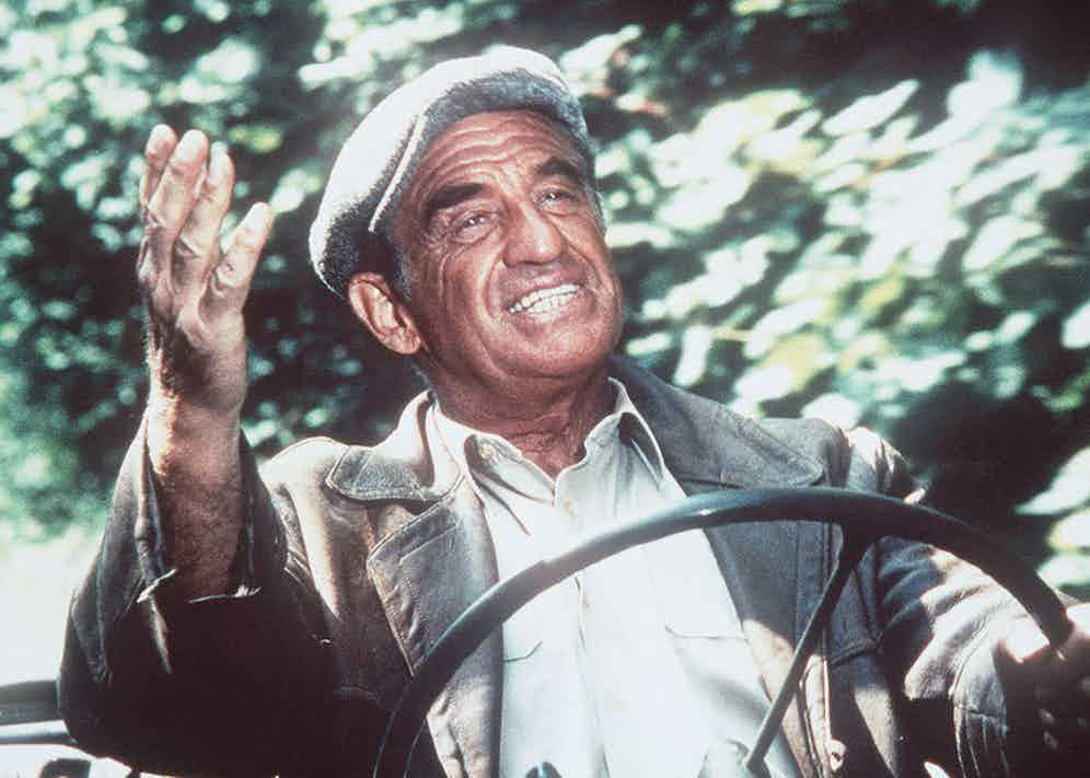 Jean-Paul Belmondo, Les Miserables, 1995. Photo by Tfi/Canal Plus/REX/Shutterstock.
