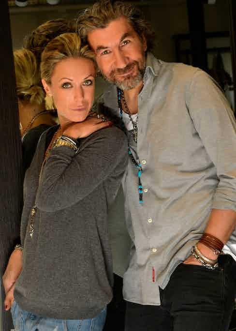 Serge and his wife Caroline
