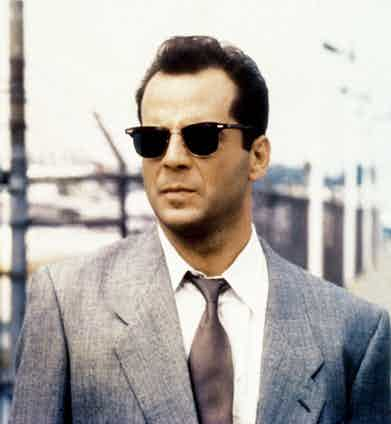 Bruce Willis in Moonlighting © ABC. Courtesy of Everett Collection.