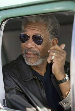 Morgan Freeman in 10 Items or Less, 2006. Photo by Think Film/REX/Shutterstock.
