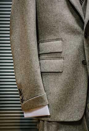 Walker Slater tweed jacket. Photo by Justin Hast.