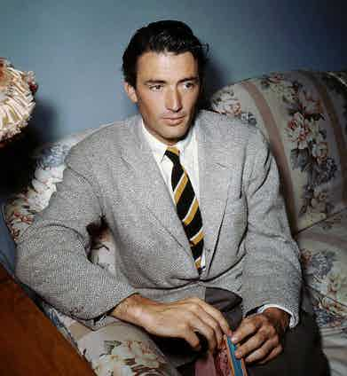 Gregory Peck, 1945. Photo by Selznick/United Artists/REX/Shutterstock.