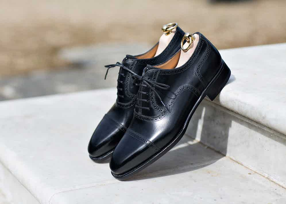 Stefano Bemer Oxford Lace-Up Shoes.