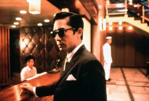 Tony Leung, In The Mood For Love, 2000. Photo by Jet Tone/REX/Shutterstock.