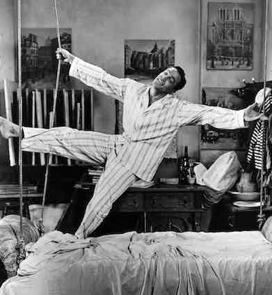 Gene Kelly in An American In Paris, 1951. Photo by MGM/REX/Shutterstock.