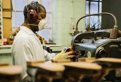 Crockett's longest standing employee, Charlie, has been honing his craft since 1967.