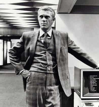 Steve McQueen in The Thomas Crown Affair, 1968. Photo by United Artists/REX/Shutterstock.