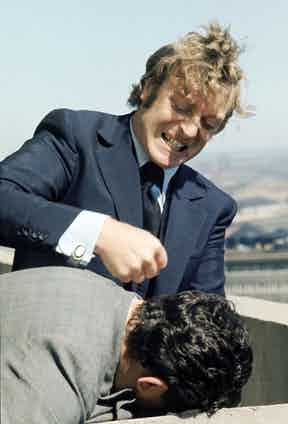 Michael Caine and Bryan Mosley in Get Carter, 1971. Photo by MGM/REX/Shutterstock.