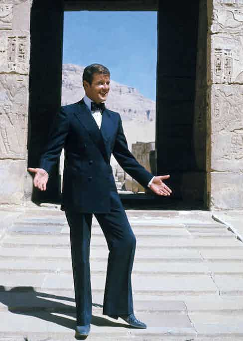Roger Moore in The Spy Who Loved Me, 1977. Photo by Danjaq/EON/UA/REX/Shutterstock.