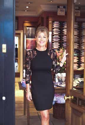 Emma Willis at her Jermyn Street store.