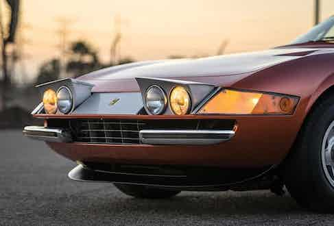 The pop-up headlights are a US-spec option, adding a decidedly throw-back feel to this 1970s classic.