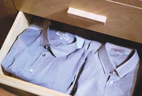 Shirts featured in American Gigolo, 1980.