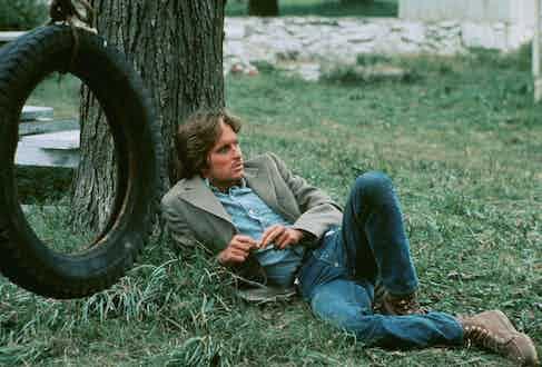 Michael Douglas in Adam At 6 Am, 1970. Photo by National General/REX/Shutterstock.