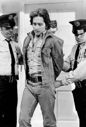 Michael Douglas in Napoleon and Samantha, 1972. Photo by Alamy.