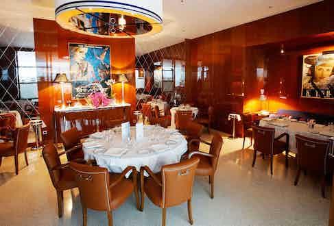Cipriani Restaurant in Monte Carlo, Monaco.