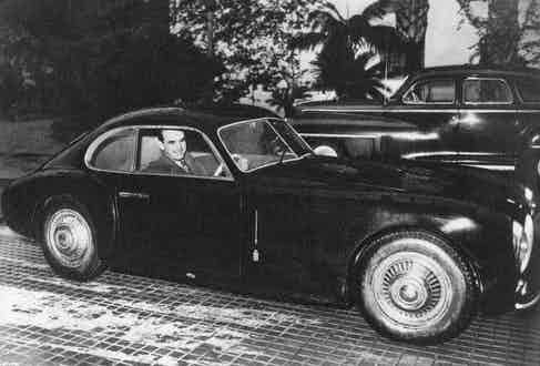Prince Rainier of Monaco in one of his multiple cars. Photo by Sipa Press/REX/Shutterstock.