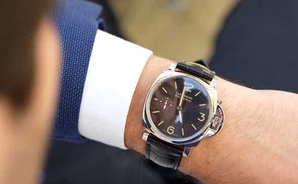 The Time Is Now: Panerai Luminor Due 3 Days Acciaio