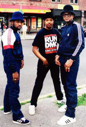 Jam Master Jay, Run and DMC in Hollis, Queens, 1986.