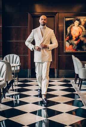 Jonathan Edwards photographed by Jamie Ferguson.
