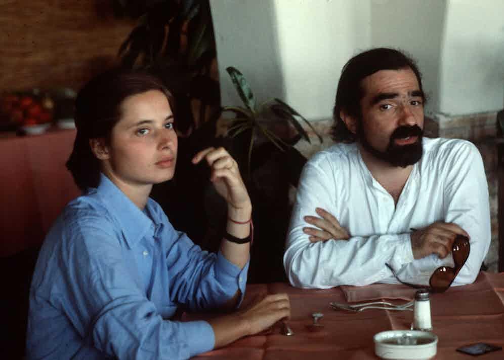 With director Martin Scorsese circa 1979.