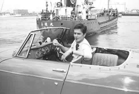 Alain Delon, c. 1963. Photo by Alamy.