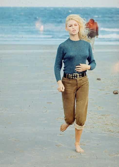 Brigitte Bardot in a scene from French film Two Weeks in September, 1967. Photo by REX/Shutterstock.
