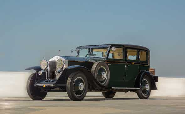 Centre Stage: Fred Astaire's 1928 Rolls Royce
