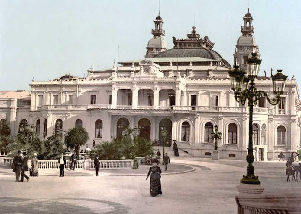 The Monte Carlo Casino, circa 1890.