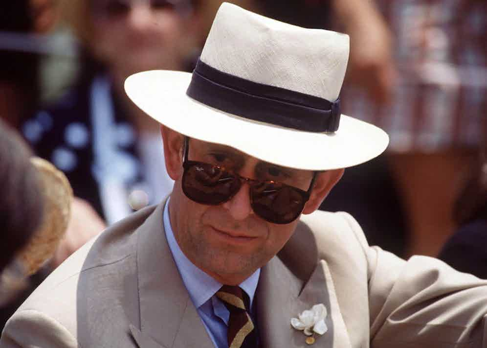 Prince Charles wears Ray Bans and a Panama at Carnivale Community Day, Sydney, Australia. Photo by Tim Graham/Getty Images.