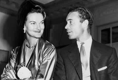 The wedding day of Rubirosa and Doris Duke, once known as the richest woman in the world, in 1947. Image by © Bettmann/CORBIS