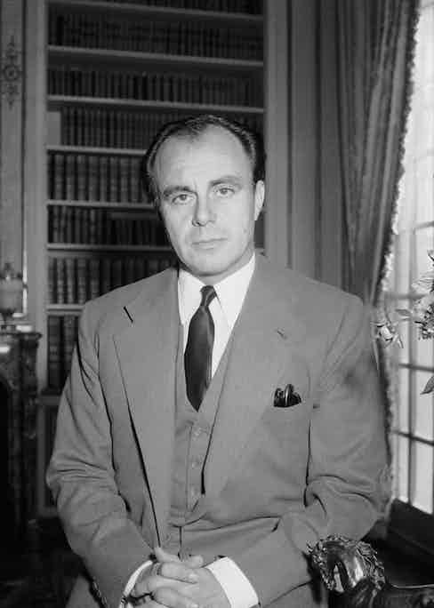 Prince Aly Khan, son of the Aga Khan III, pictured in 1957.