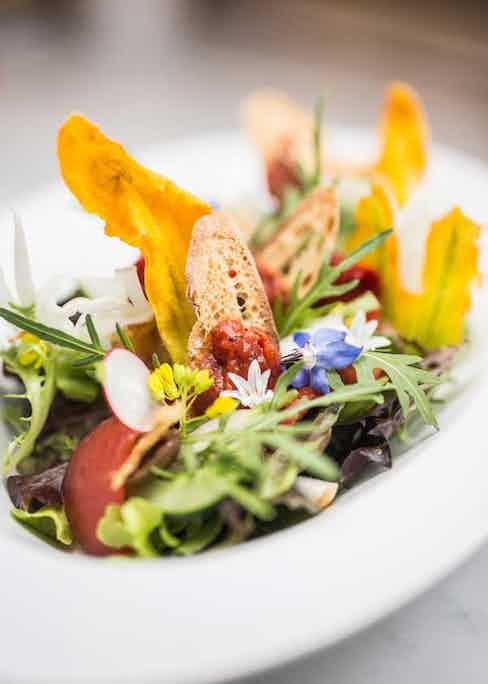 A dish at Rivea.