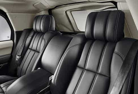 The sumptuous leather seats are taken straight from the top-of-the-line Range Rover Autobiography, meaning the owner will arrive in style and comfort.