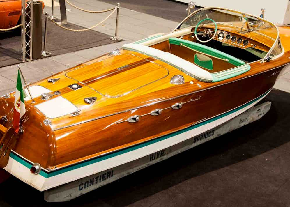 The Riva Ariston 576, 1964. Photo by ClassicDriver.com.