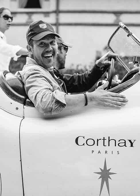 Matt Hranek and Corthay's Francois Pourcher.