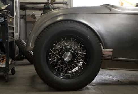 The 'Brooklands Special', a 1932 Ford Roadster which was inspired by Brooklands motor circuit in Surrey, England.