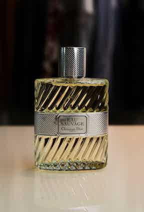 Scent is an extremely personal choice, and the use of Eau Sauvage is something that runs in the family. It is the scent Toby's father wore and is a scent he has been familiar with since childhood.