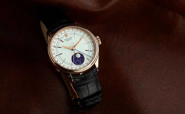 Invest: The New Rolex Cellini Moonphase