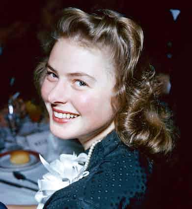 The actress in her twenties, 1939.