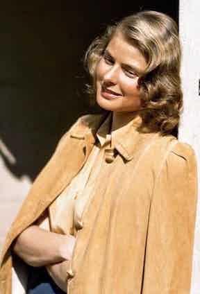 The actress circa 1945.