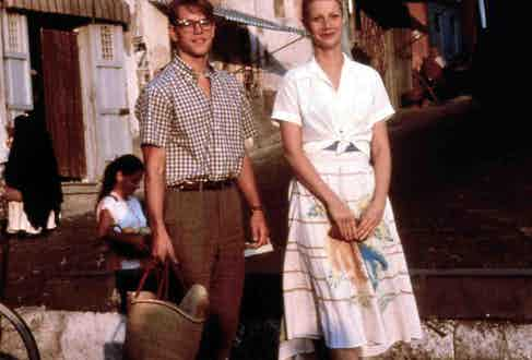 Matt Damon and Gwyneth Paltrow both epitomise a different kind of 1950s style.