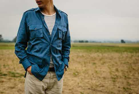 Marol's Denim Safari Shirt.