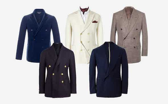 5 of the Best Double-Breasted Blazers
