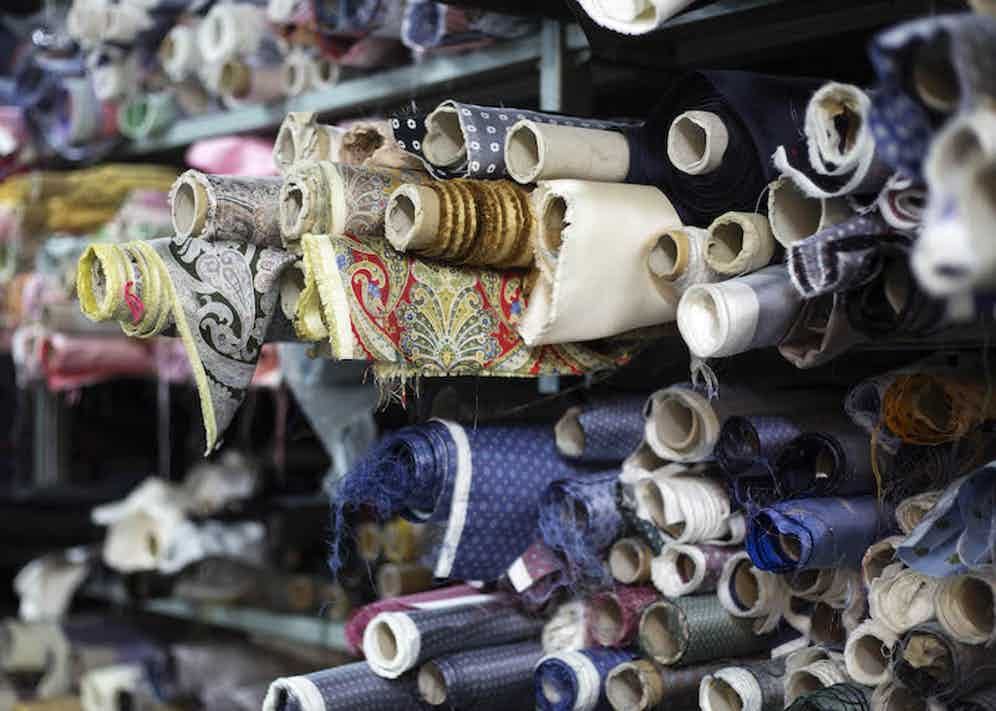 Calabrese 1924 is renowned for its decorative fabrics. Photo by Stéphane Butticé.