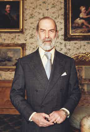 Prince Michael of Kent in 2001. Photo by Steve Pyke/Hulton Archive/Getty Images.