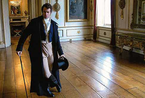 James Purefoy as Brummell in the TV series Beau Brummell: This Charming Man, 2006.