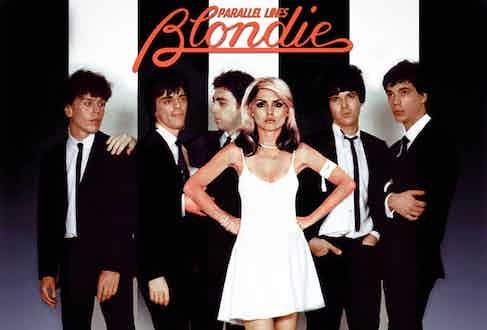 Blondie's third album, Parallel Lines, released in 1978.