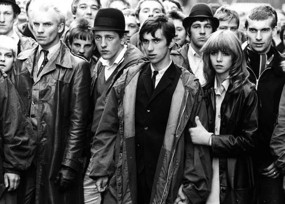 Sting, Mark Wingett, Phil Daniels and Leslie Ash in Quadrophrenia, 1979. Photo by Moviestore/REX/Shutterstock.