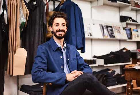 Blackhorse Lane Ateliers Head of Digital and Retail David Giusti. Photo by Kim Lang.