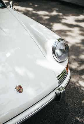 This Porsche 911 was released in 1965 – the classic model's first full production year – and is arguably the company's most charming. Originally owned by artist and adman George Giusti, then photographer and rally driver Jeff Zwart, this car is completely unrestored and has only clocked 34,000 miles.